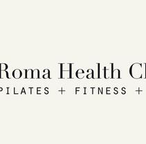 Roma Health Club. Un proyecto de Diseño, Ilustración, Fotografía, Br, ing e Identidad y Diseño gráfico de Estudio Lina Vila         - 22.01.2014