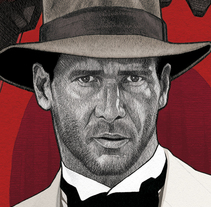 """ANYTHING GOES"" Indiana Jones and The Temple of Doom. Un proyecto de Diseño, Ilustración, Cine, vídeo y televisión de Dani Blázquez - 24-01-2014"