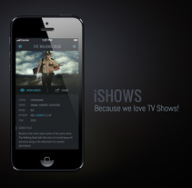 iShows (website). A Design, UI / UX, and Web Design project by Luis Herrero Jimenez - 17-07-2013