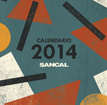 Calendario 2014 SANCAL. A Graphic Design&Illustration project by Mar Hernández - 02.03.2014