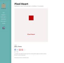 Web Tu Píxel Solidario. Um projeto de Web design de Jose Luis Torres Arevalo         - 06.02.2014