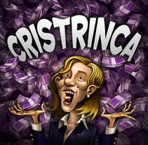 Cristrinca. Un proyecto de Ilustración, Dirección de arte, Educación, Bellas Artes y Diseño gráfico de Pepetto          - 12.02.2014