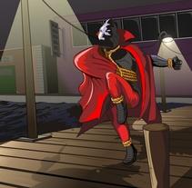 Justicia Encapuchada. A Illustration project by José Avero - 19-02-2014