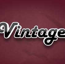Logo Vintage. Un proyecto de Motion Graphics y 3D de renerene         - 23.02.2014
