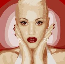 Vectorización de foto manualmente. A Illustration, Fine Art, and Graphic Design project by Irina Odintsova         - 09.03.2014