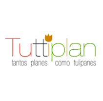 Tuttiplan. Logotipo/DiseñoWeb. Um projeto de Publicidade, Design gráfico e Web design de Marta Páramo Vicente         - 09.03.2014