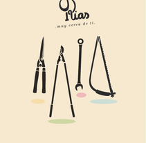 LAS RIAS. Un proyecto de Br, ing e Identidad, Dirección de arte e Ilustración de mauro hernández álvarez - Lunes, 10 de marzo de 2014 00:00:00 +0100