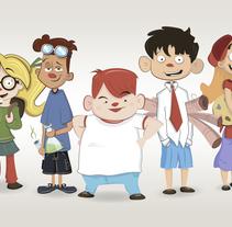 Personajes - Character Design. Um projeto de Ilustração de Héctor Sánchez - 28-02-2014