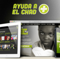 AYUDA A EL CHAD. A Design, and Art Direction project by Oriol Panadés Piú         - 10.10.2013
