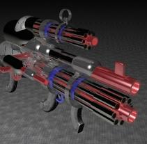Arma Letal en 3d. Un proyecto de 3D de Andres Torres A.         - 31.03.2014