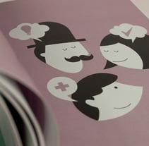 """Libro """"El Chiringuito de Martín"""". Um projeto de Ilustração, Design editorial e Design gráfico de Estudio Gráfico         - 31.03.2014"""