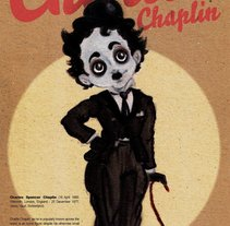 Chaplin.. Un proyecto de Diseño e Ilustración de Victor  Nariño         - 05.04.2014