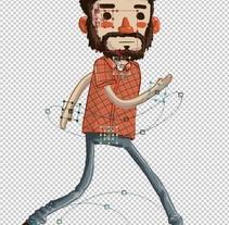 """El Amigo original.. Un proyecto de Animación y Diseño de personajes de Carlos """"Zenzuke"""" Albarrán - 07-04-2014"""