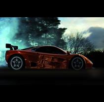McLaren Footwear Technology. Un proyecto de 3D de Bruno Peláez - 08-01-2009