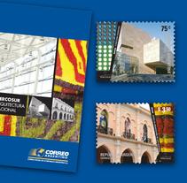 Sellos Arquitectura Nacional - Mercosur. A Design, Photograph, Br, ing, Identit, Editorial Design, and Graphic Design project by Julieta Giganti - 31-05-2011