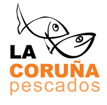 "Logotipo ""Pescados La Coruña"". A Graphic Design project by Ruben Vela Piñuela         - 10.04.2014"