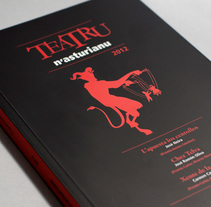 Teatro N'Asturianu 2012. A Illustration, Editorial Design, and Graphic Design project by Think Diseño - 21-12-2012