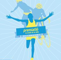 Poster Premiatló. Um projeto de Design gráfico de Marc Vilarnau - 21-04-2014