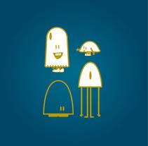 A World in my Wall. Vinilos Infantiles. Un proyecto de Diseño de personajes, Diseño gráfico e Ilustración de Carolina Carbó - Lunes, 28 de abril de 2014 00:00:00 +0200