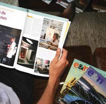 Revista Empresas & Negocios. Un proyecto de Diseño editorial y Diseño gráfico de Gimena Cabrera         - 07.05.2014