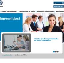Diseño web VW Puebla. Um projeto de Design e Web design de Starfire182  - 19-05-2013