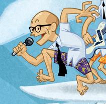 Hula Baby. Un proyecto de Ilustración de Alejandro Antoraz Alonso - 13-05-2014