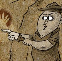 Arqueólogos. Un proyecto de Ilustración de Alejandro Antoraz Alonso - 13-05-2012