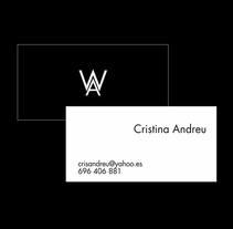 Tarjeta de Presentación. Um projeto de Design gráfico de Adriana Alejos - 15-05-2014