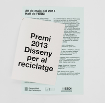 Design Awards for Recycling. A Editorial Design, Graphic Design, T, and pograph project by Xavi Martínez Robles         - 17.05.2014