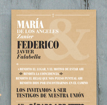 Tarjeta de Invitación. A Editorial Design, T, and pograph project by Juan Manuel Falabella - 22-05-2014