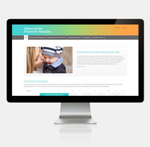 Primeres paraules. Un proyecto de Diseño Web de Cristina Fabregas Escurriola         - 30.04.2014