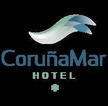Identidad corporativa de Hotel Coruña Mar. Un proyecto de Br e ing e Identidad de boh - 30-05-2014