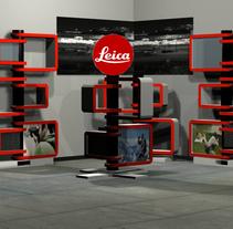 Leica Shop in Shop. Un proyecto de Diseño, Br, ing e Identidad, Arquitectura interior y Diseño de interiores de Desiree Diaz Carrascoso         - 31.05.2014