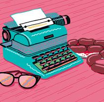 Escritoras de novela negra y crimen. A Illustration project by Ana Galvañ - Jun 02 2014 12:00 AM
