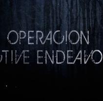 Operacion Active Endavor (Fuerzas Armadas Españolas). A Motion Graphics, Film, Video, TV, Animation, Art Direction, and Post-Production project by Gloria Peiró Pérez         - 03.06.2014