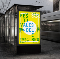 Festivales del Ebro 2014. A Br, ing&Identit project by LOCAL  ESTUDIO  - Jun 05 2014 12:00 AM