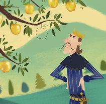 Golden Bird. A Illustration, and Character Design project by Marina Pessarrodona - 14-05-2015