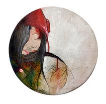 Ilustraciones para bandejas. A Crafts, Fine Art, Design&Illustration project by Youder  - Jun 10 2014 12:00 AM