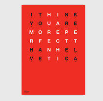 Helvetica. A Graphic Design project by Bisgràfic  - 09-06-2014
