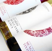 ━  Albarizo vinos . Un proyecto de Dirección de arte, Br, ing e Identidad y Packaging de Nuria  López - 02-06-2015