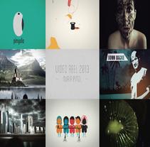 Video Reel Pinyola 2013. Un proyecto de Motion Graphics, Cine, vídeo, televisión, Animación, Diseño gráfico, Multimedia y Post-producción de Nuria Piñol - 05-06-2013