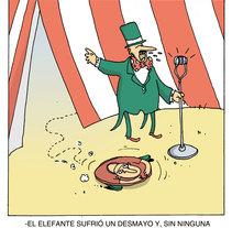 Ombligo del mundo- Humor Gráfico. A Comic project by Marce Martínez         - 15.04.2015