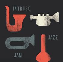 Intruso jam session. A Graphic Design project by Zeta Zeta Estudio         - 07.06.2014