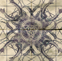 CROWN | tour poster. Un proyecto de Diseño, Ilustración, Publicidad y Diseño gráfico de alejandro escrich - 31-08-2013