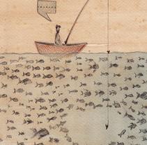 La mudez del ruido · Oda al silencio. Un proyecto de Ilustración y Diseño editorial de Álvaro Varograff         - 29.04.2014