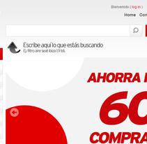 Optimización y carga productos SEO tienda prestashop. A Web Development project by juan carlos  chico         - 23.06.2014