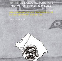 Portada libro: La Conca d'Òdena entre la baixa roamnitat i l'inici de l'Edat Mitjana. Um projeto de Design editorial de Blanca Enrich         - 23.06.2014