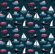 Ahoy Patterns . A Design&Illustration project by ana seixas - Jul 02 2014 12:00 AM