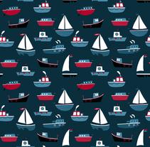 Ahoy Patterns . Un proyecto de Diseño e Ilustración de ana seixas         - 01.07.2014