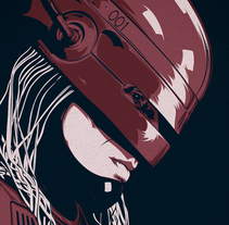 ROBOCOP. A Illustration, and Graphic Design project by CranioDsgn         - 03.07.2014